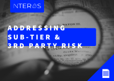 Addressing Sub-Tier & 3rd Party Risk