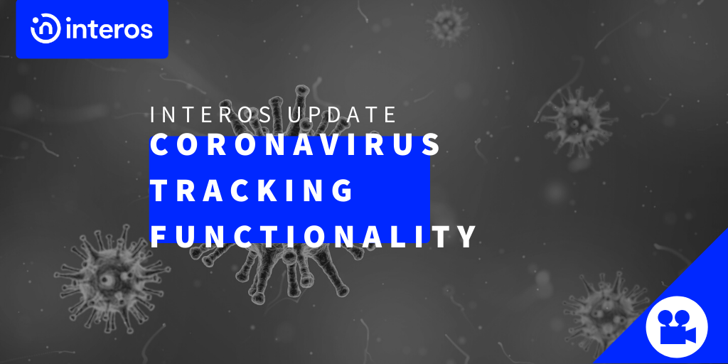 Interos updates adds coronavirus tracking