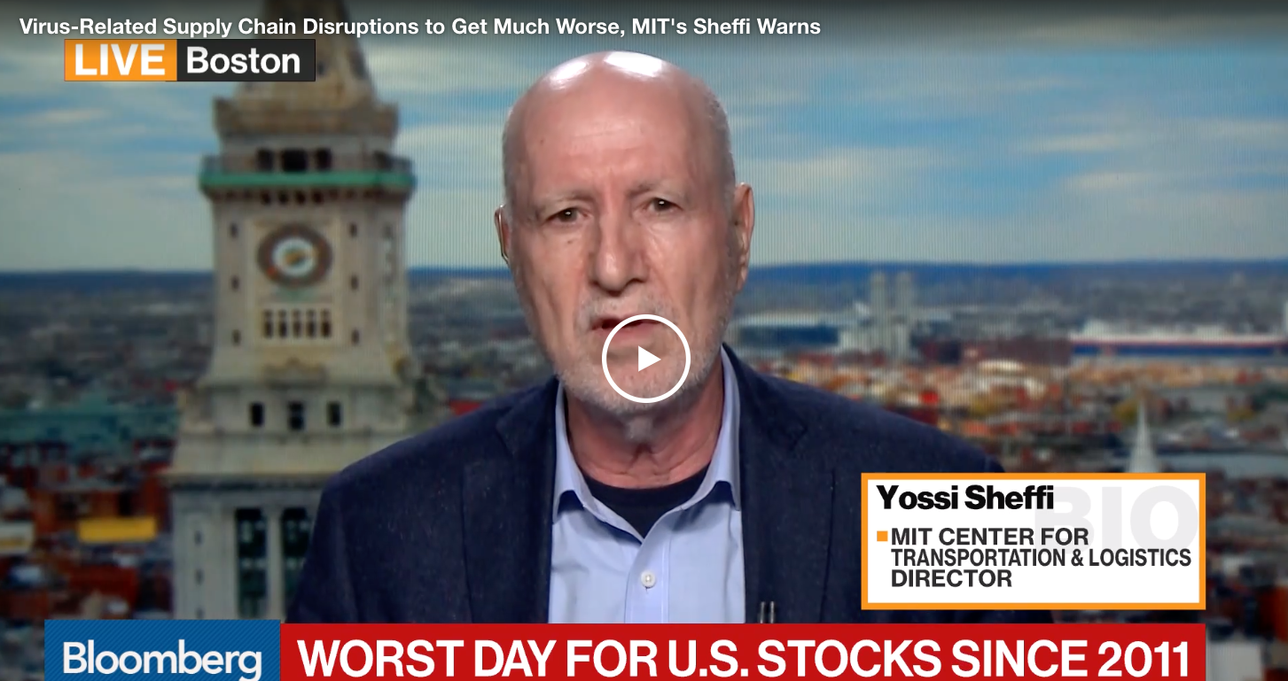 Synopsis: Sheffi Bloomberg Interview