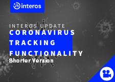 Interos Adds Coronavirus Tracking (Short Version)