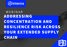 Webinar: Addressing Concentration and Resilience Risk Across your Extended Supply Chain