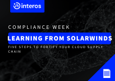Learning from SolarWinds: Five steps to fortify your cloud supply chain