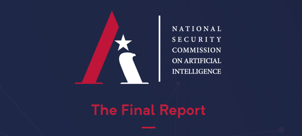 NSCAI Report is a Call for US Leadership in Artificial Intelligence — for Supply Chain Security and Beyond