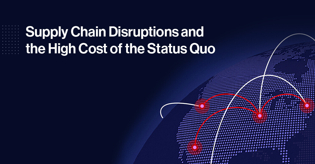 As Disruptions Grow, So Does the Quest for Better Supplier Risk Management